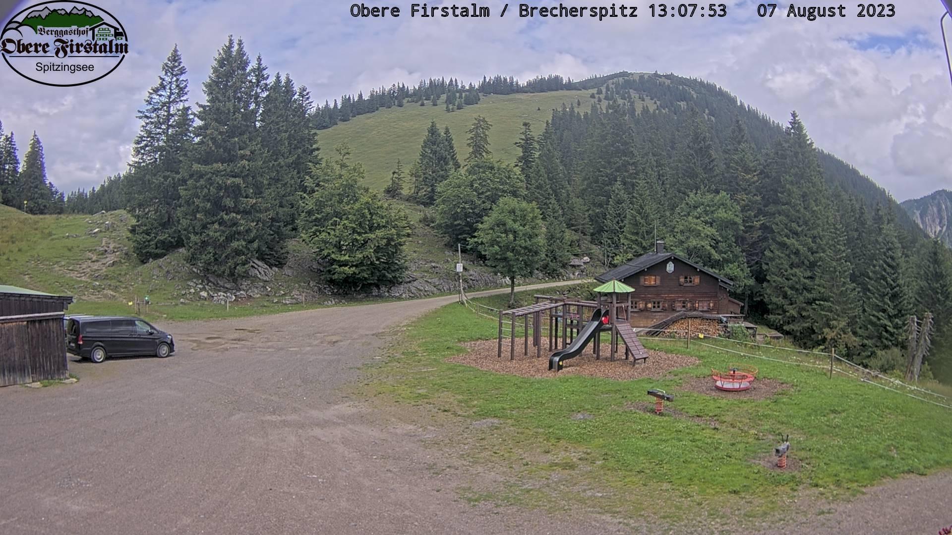 Webcam Obere Firstalm – Bayerische Voralpen
